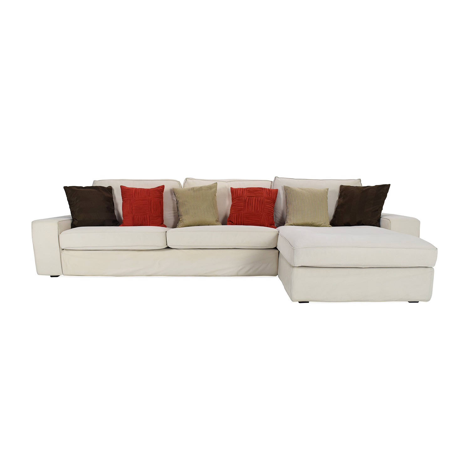 Sofa Lounge Nyc 83 Off Ikea Ikea Kivik Chaise Lounge Sofas