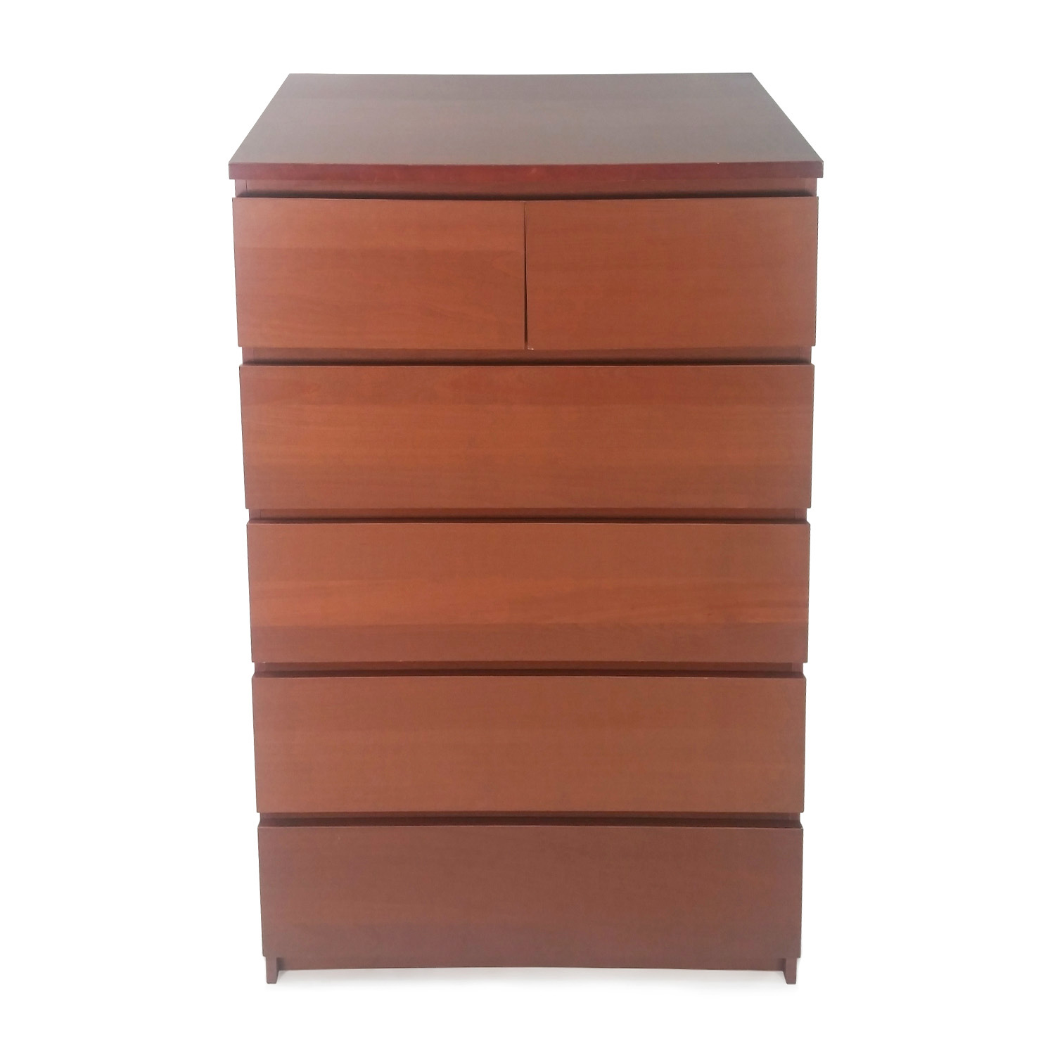 Ikea Armoire Malm 50 Off Ikea Malm 6 Drawer Dresser Storage