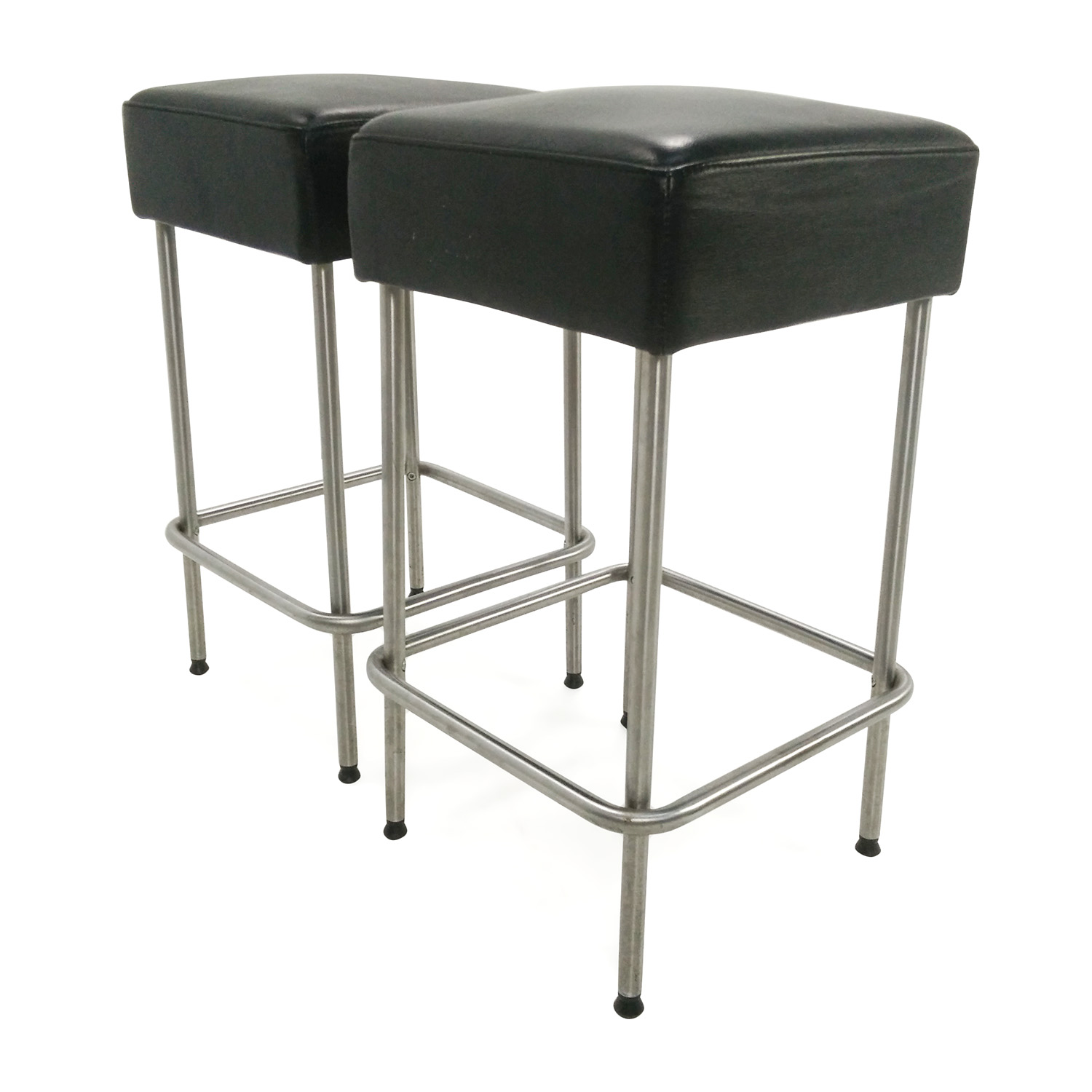 Black Leather Chairs Ikea 71 Off Ikea Ikea Black Faux Leather Bar Stools Chairs