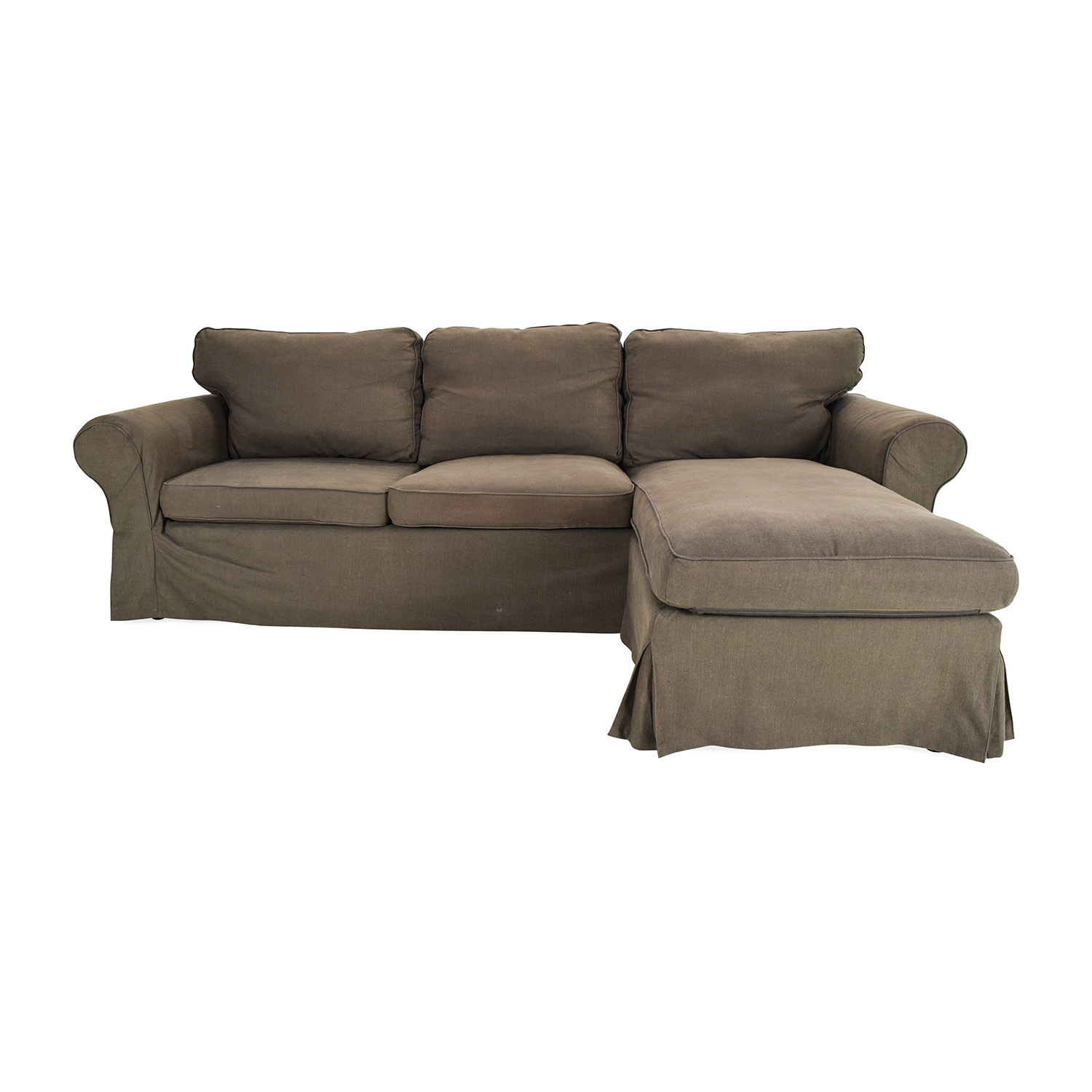 Conforama Sofa Speedway 49 Off Ikea Ektorp Brown Couch With Chaise Sofas