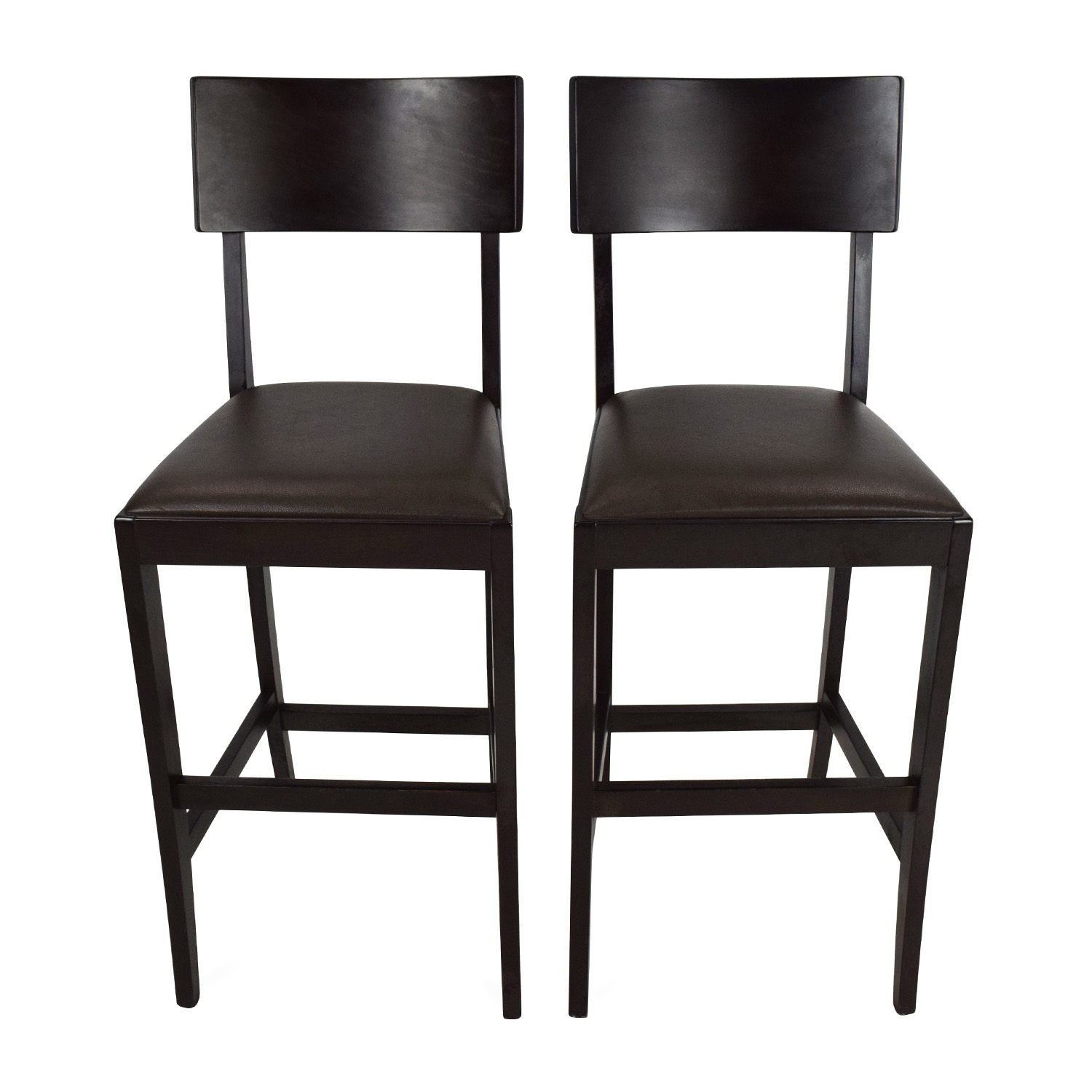 52 Off Crate And Barrel Crate And Barrel Bar Stools