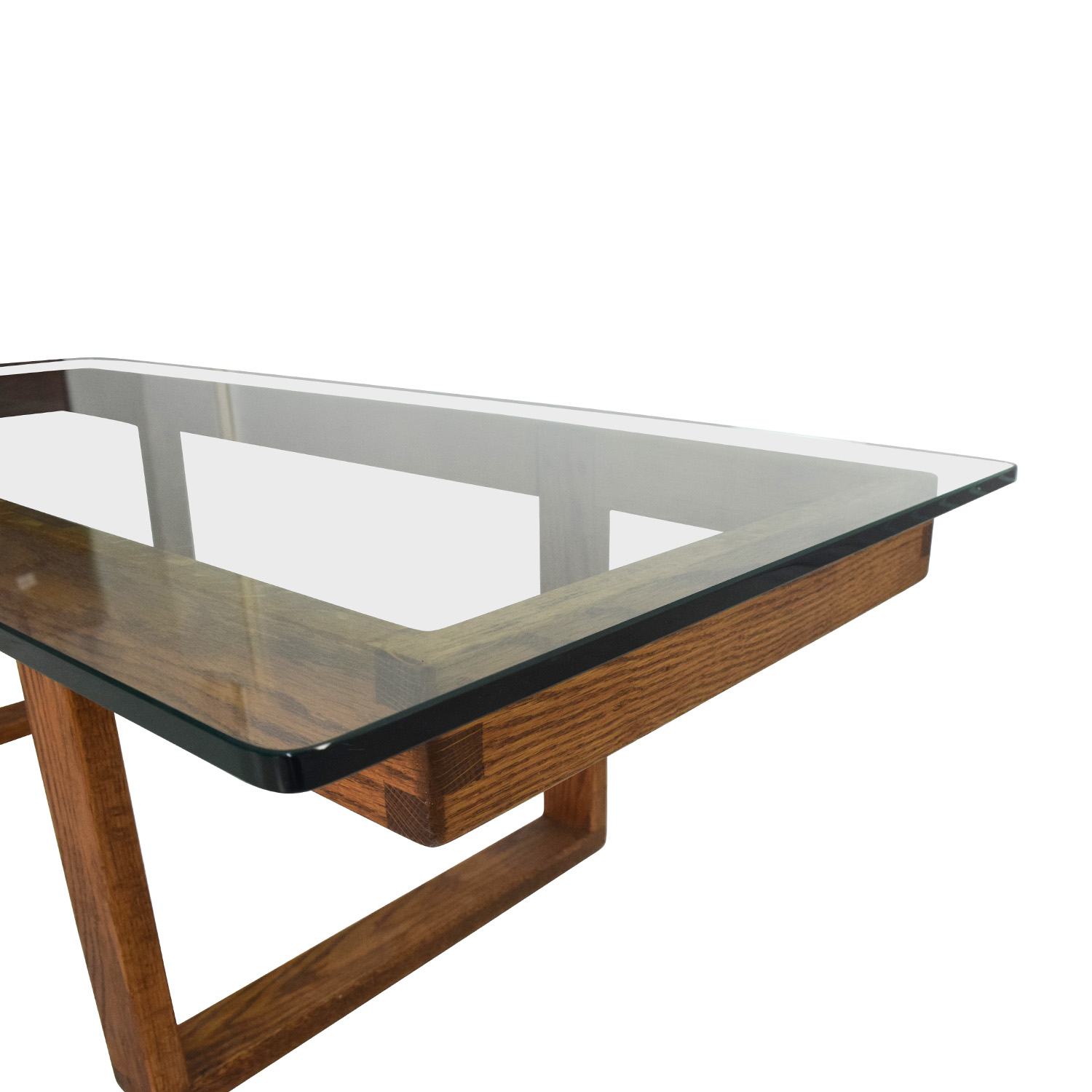 Buy Glass Coffee Table 60 Off Unknown Brand Antique Glass Coffee Table Tables