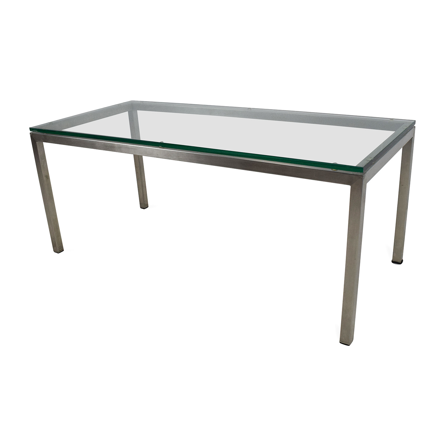 Buy Glass Coffee Table 82 Off Room And Board Room And Board Glass Coffee Table