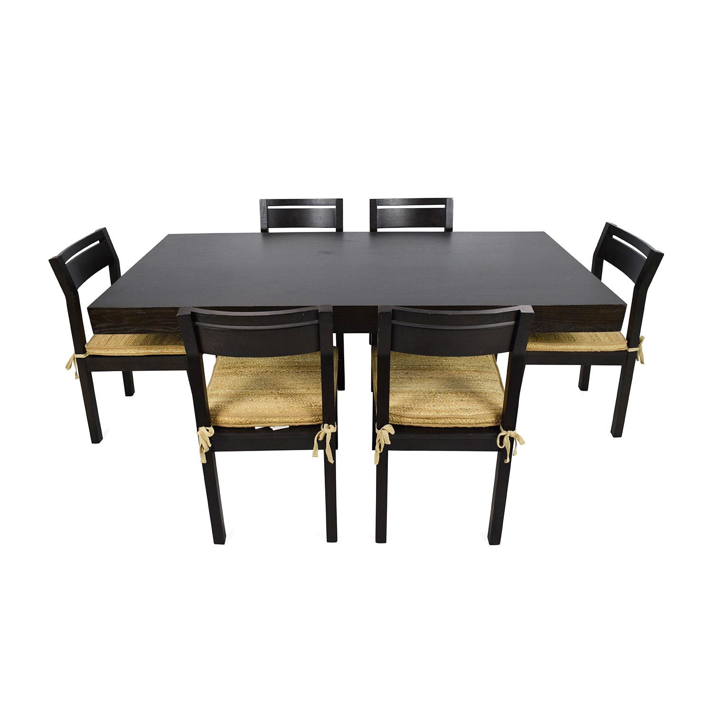 85 Off West Elm West Elm Dining Set Tables