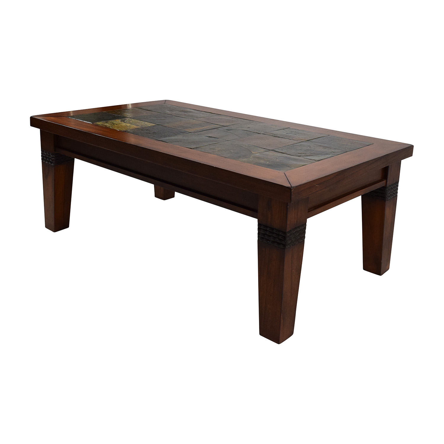 Coffee Tables Images 77 Off Wooden And Tiled Coffee Table Tables