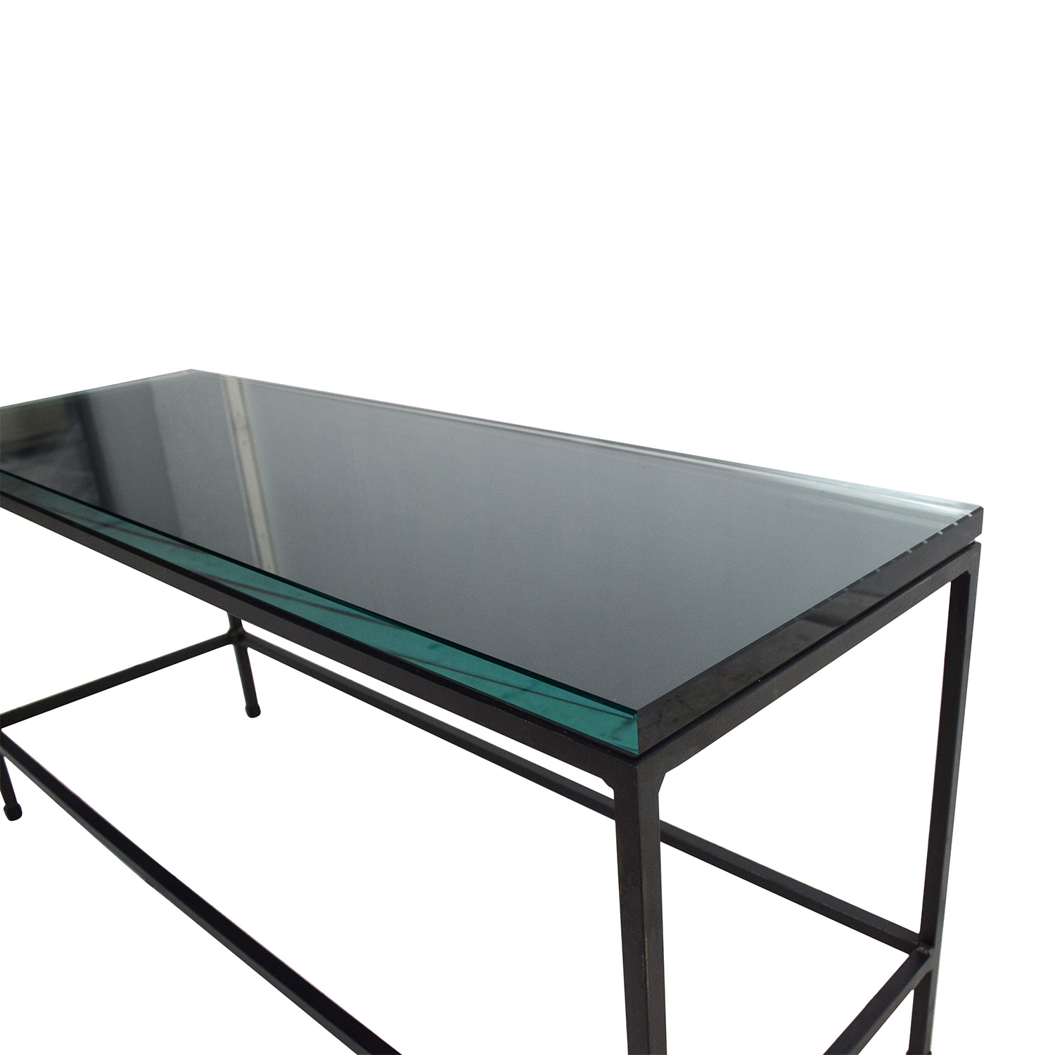 Buy Glass Coffee Table 80 Off Cb2 Cb2 Glass Top Coffee Table Tables