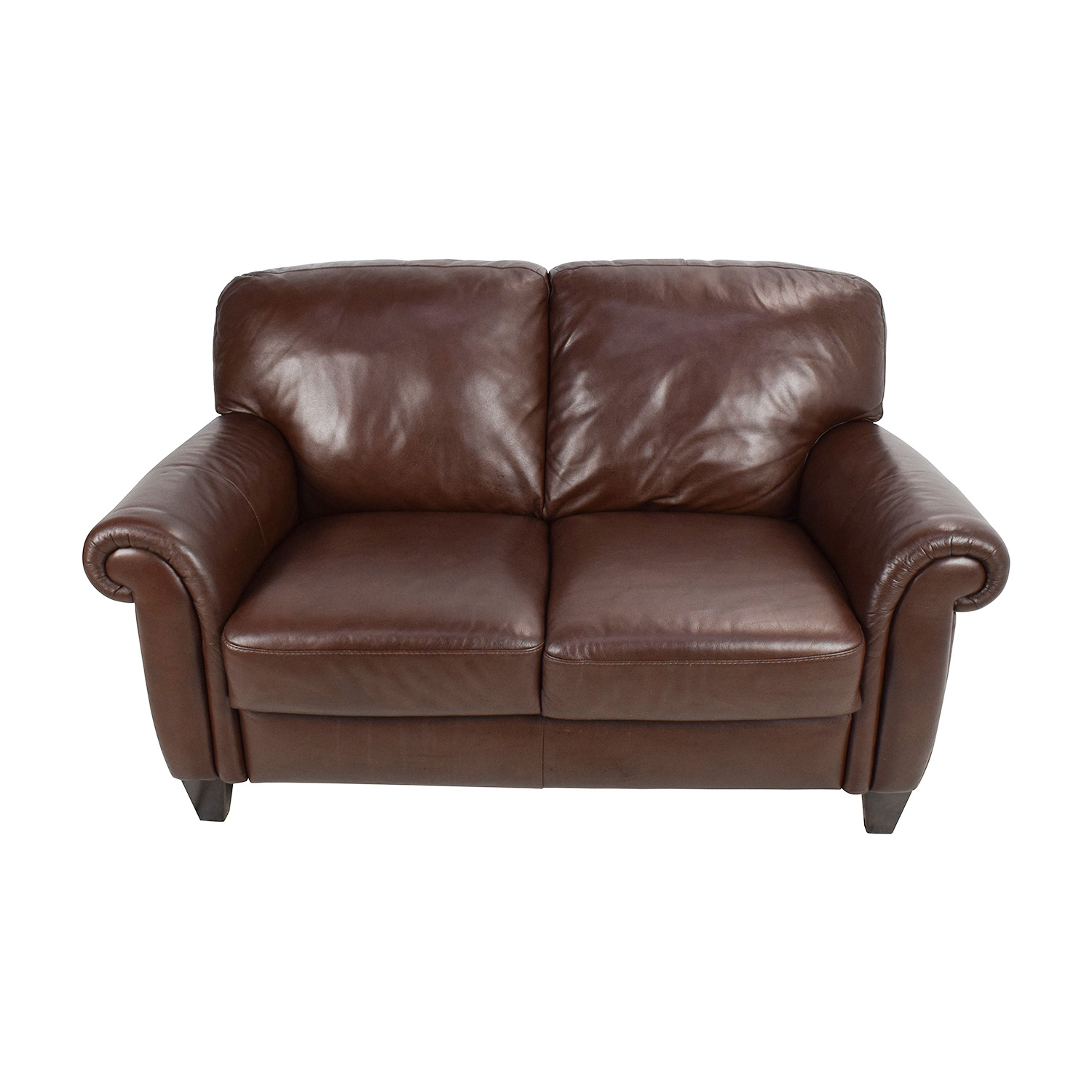 Leather Loveseat Brown Leather Loveseats Home Ideas