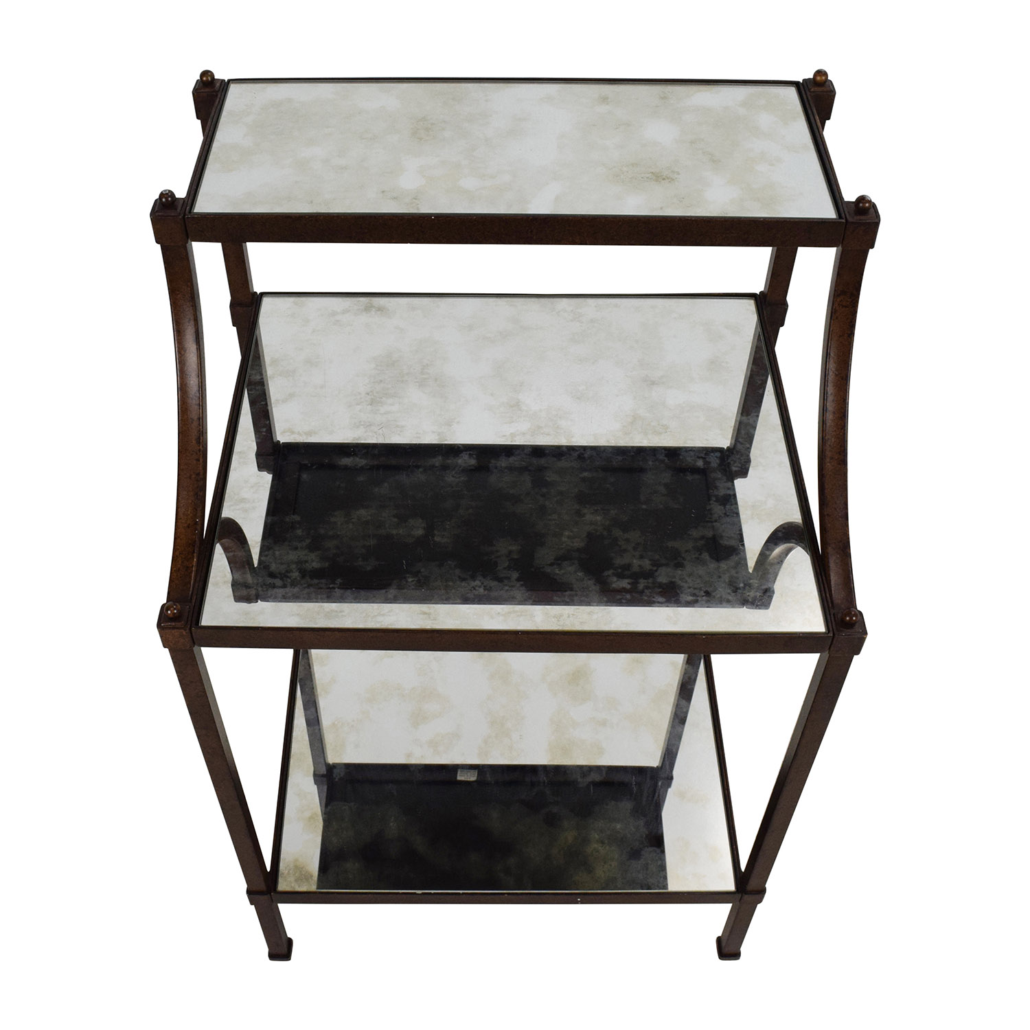 Second Hand Bedside Tables 65 Off Pottery Barn Pottery Barn Etagere Bedside Table