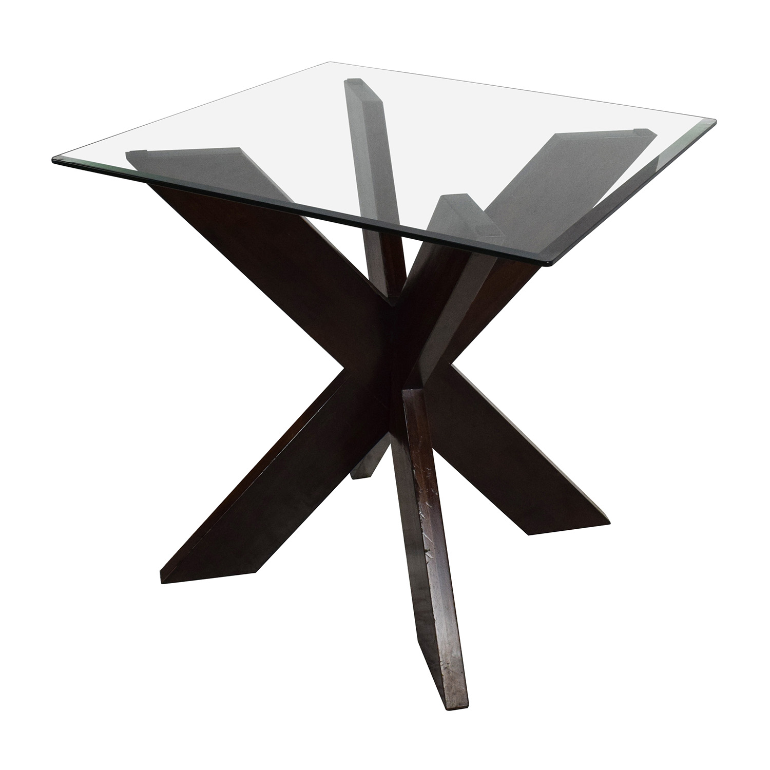 Buy Side Table 72 Off Glass Top Side Table Tables