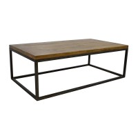 51% OFF - West Elm West Elm Box Frame Coffee Table / Tables