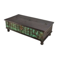 62% OFF - Nadeau Nadeau Distressed Coffee Table with ...