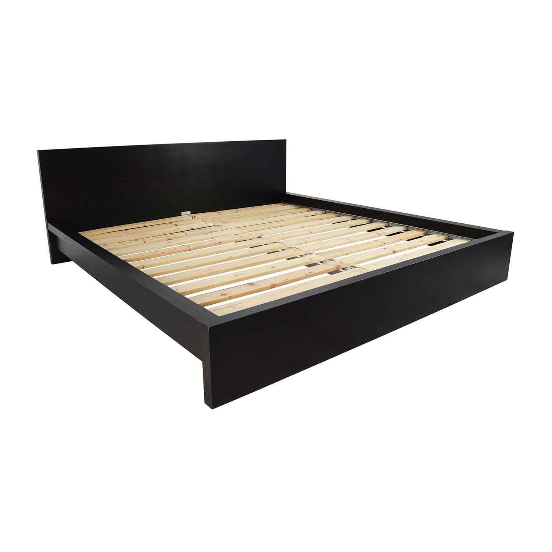 ikea ikea malm king size bed for sale