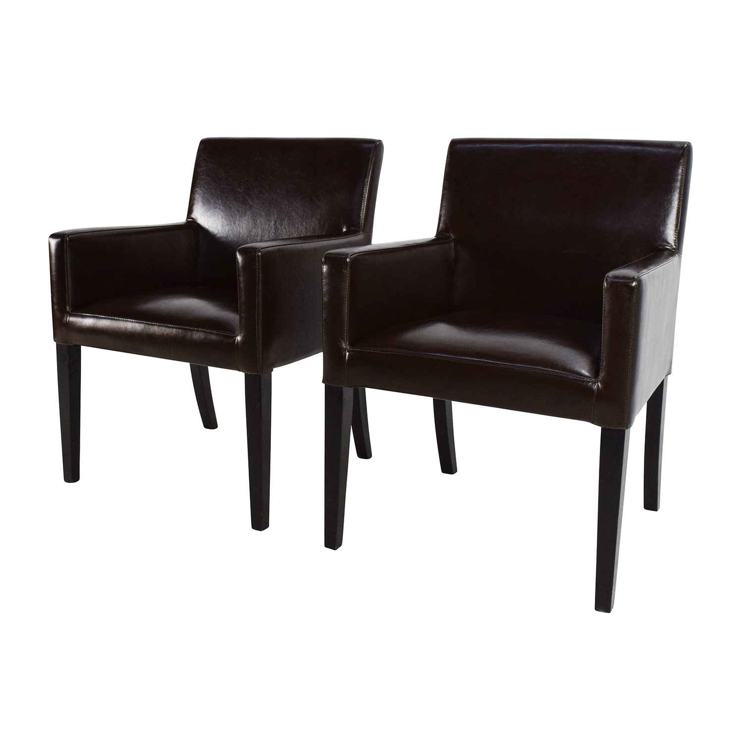Furniture Chairs Black 82 Off Black Leather Office Chairs Chairs