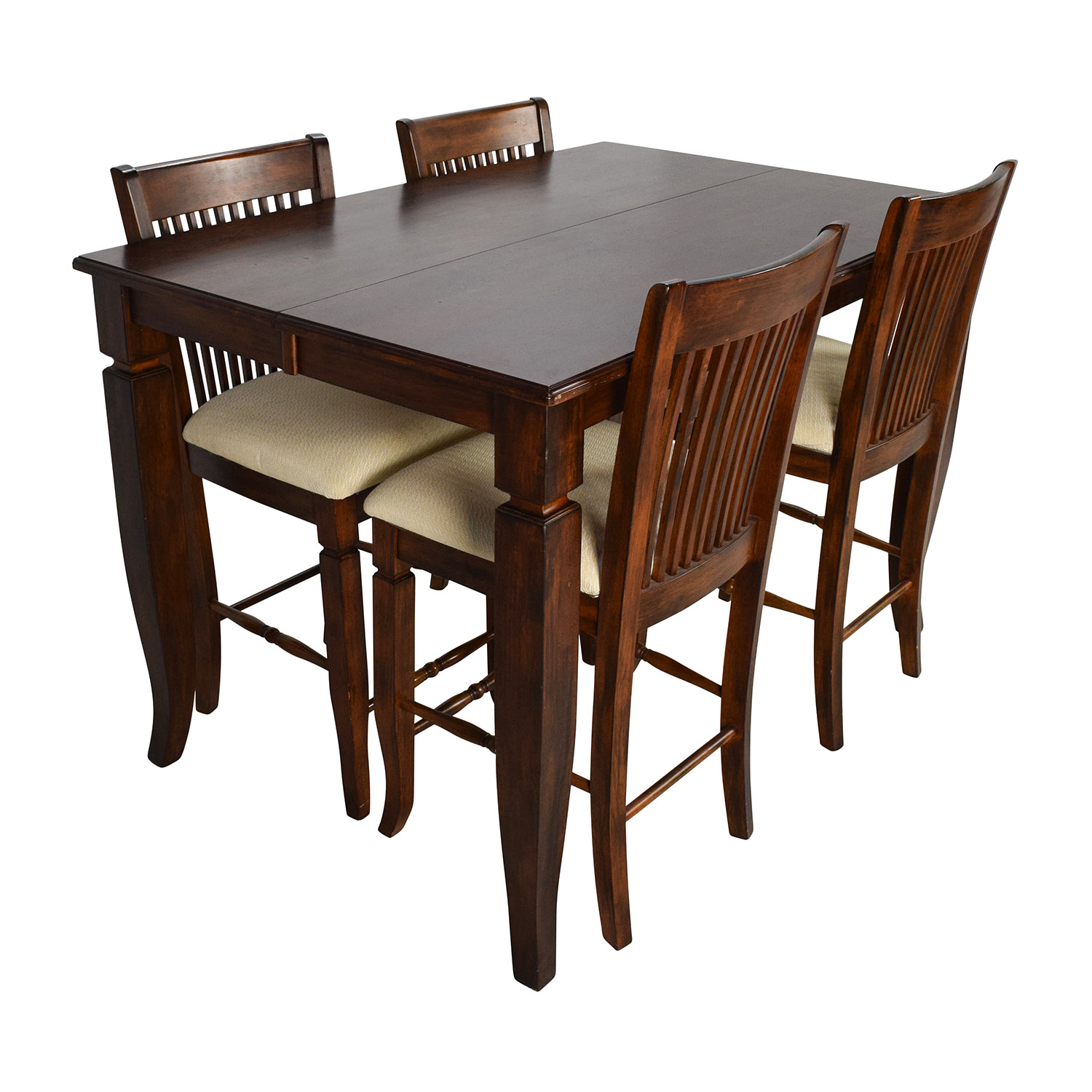 Dining Tables Extendable 75 Off Tall Extendable Dining Room Table Set Tables