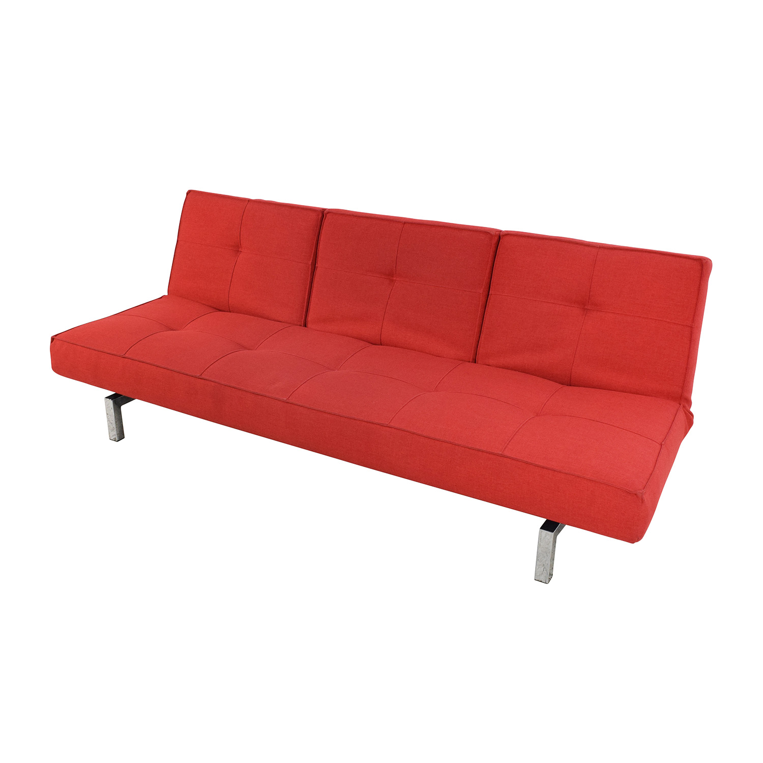 Red Sofa 51 Off Room And Board Room And Board Eden Convertible Red