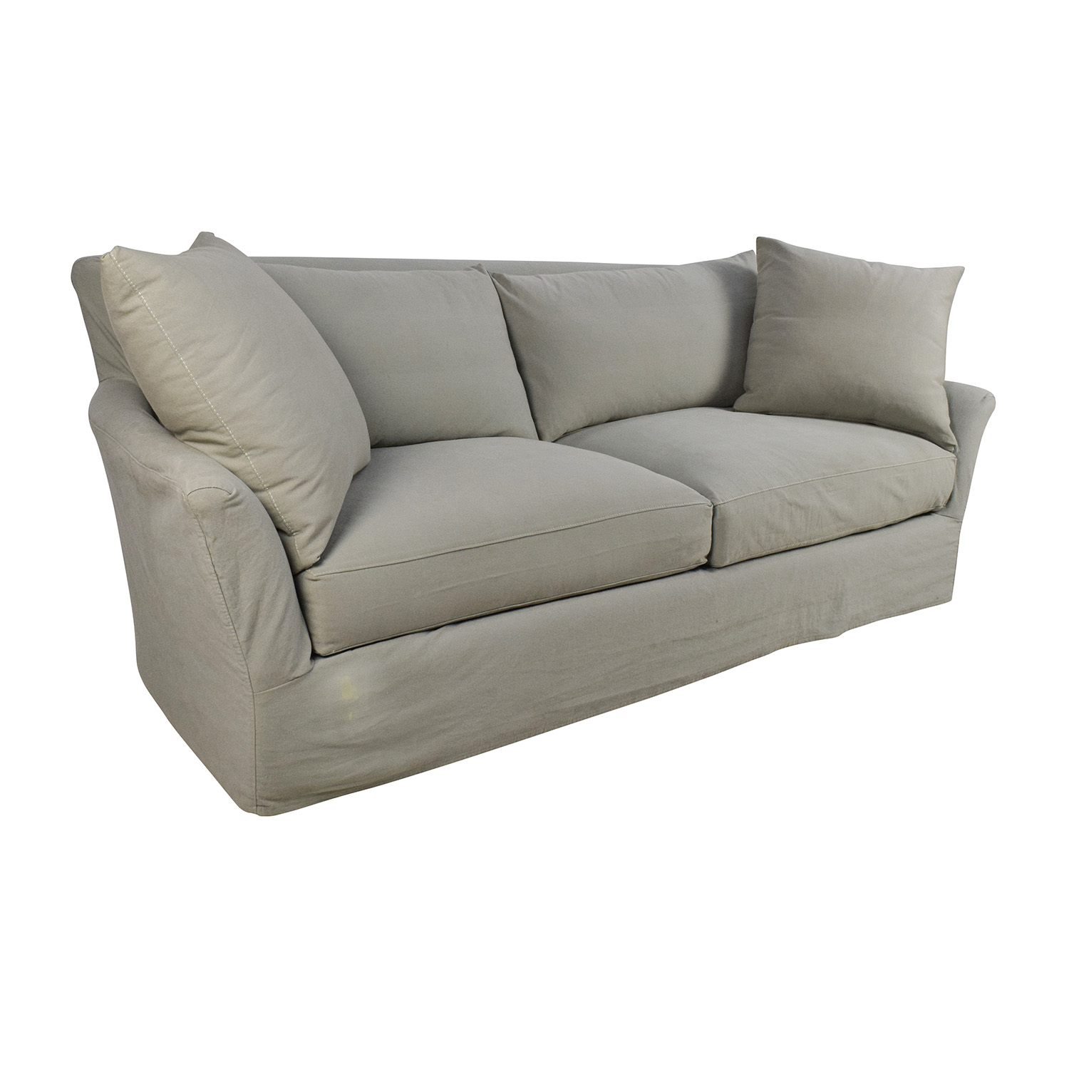 Buying A Second Hand Sofa 70 Off Crate And Barrel Crate And Barrel Willow Sage