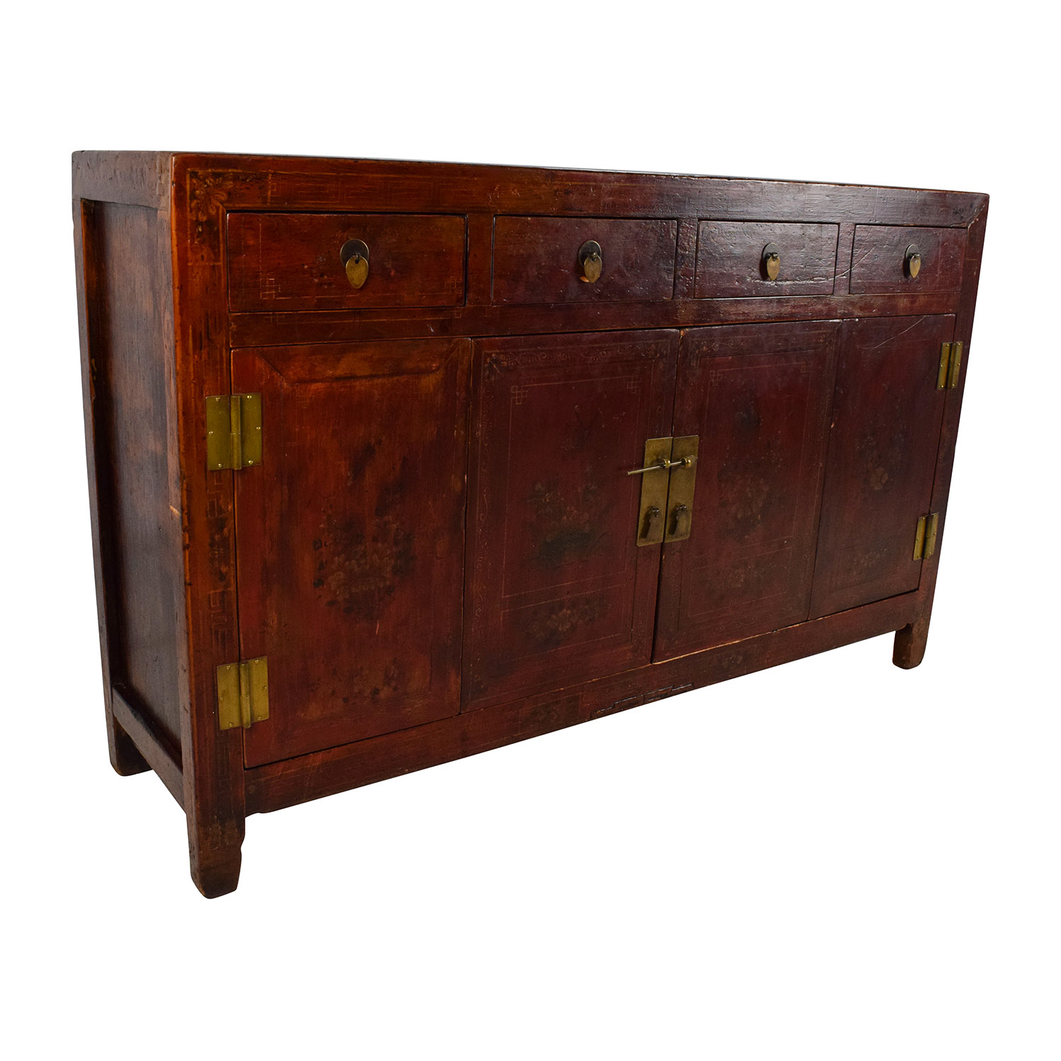 Asia Sideboard 66 Off Solid Wood Southeast Asian Credenza Storage
