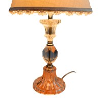 70% OFF - Table Lamp with Clear Glass Base / Decor