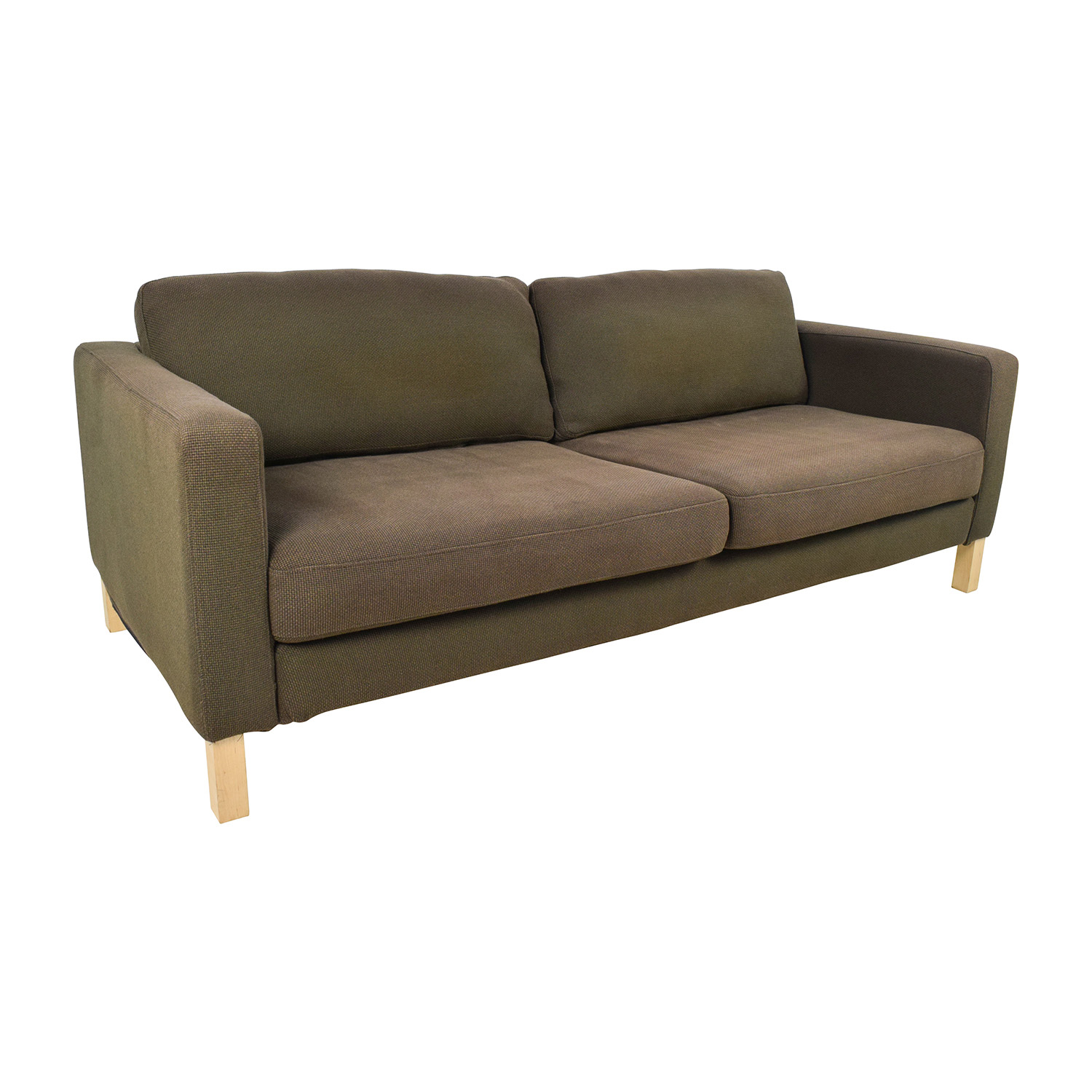 Sofa S 50% Off - Ikea Ikea Brown Woven Sofa / Sofas