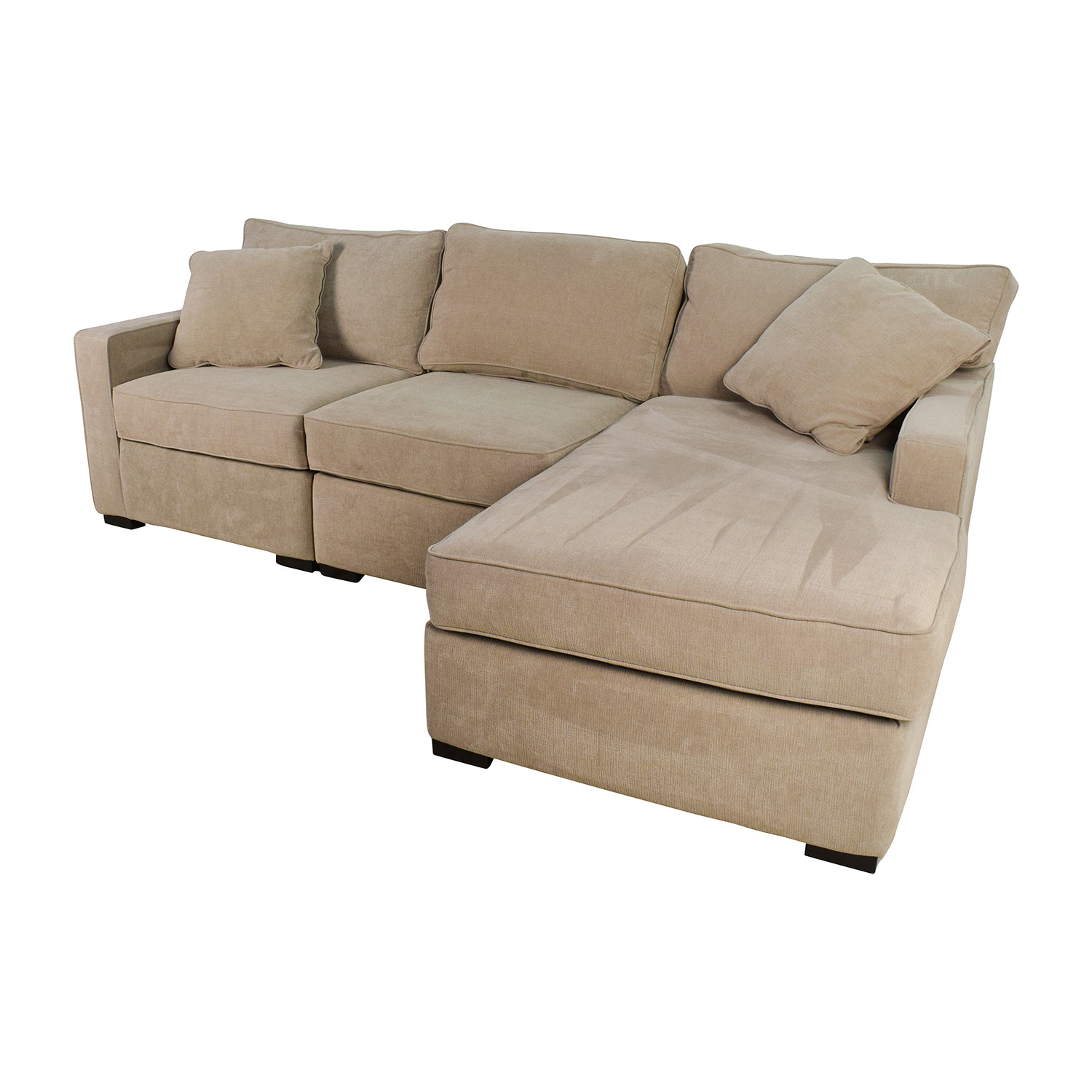 Fabric Sectional Sofas With Chaise 37% Off - Macy's Radley 3-piece Fabric Chaise Sectional