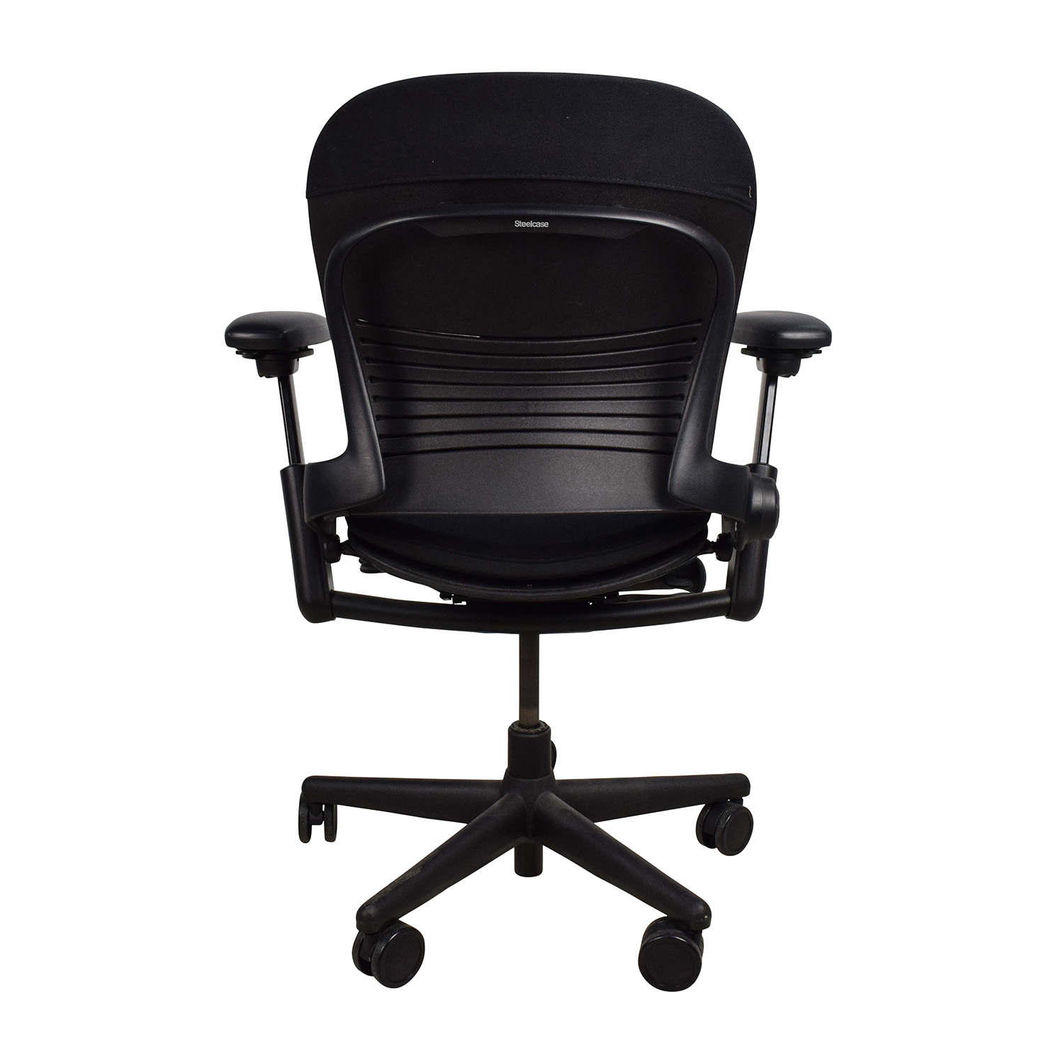 Furniture Chairs Black 71 Off Adjustable Black Office Desk Chair Chairs