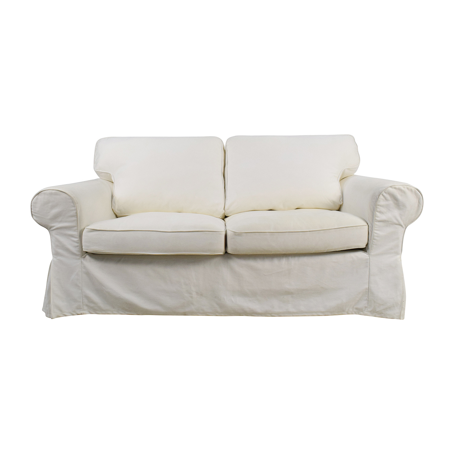 Ikea Furniture White Loveseat Sofa Good White Sofa And Loveseat 61 About