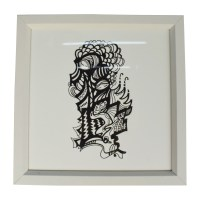 71% OFF - society6.com Millie Kwong Small Black and White ...