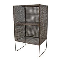 53% OFF - Small Metal End Table / Tables