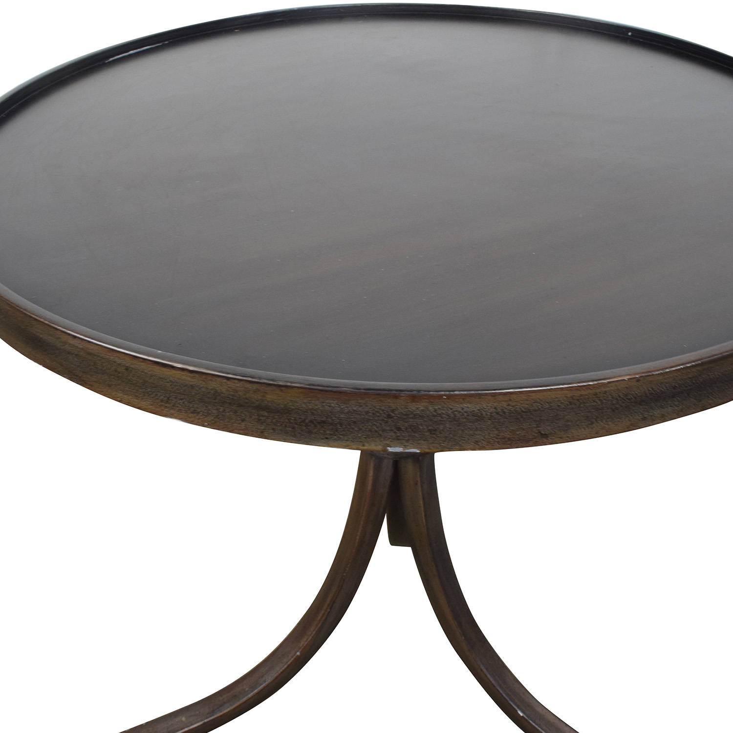 Buy Side Table 90 Off Round Metal Side Table Tables