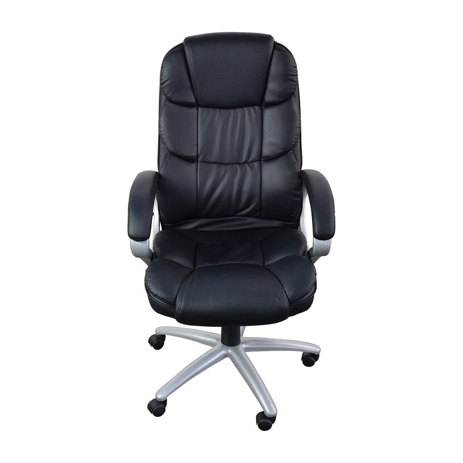 Leather Executive Chair 57 Off Black Leather Executive Office Chair Chairs