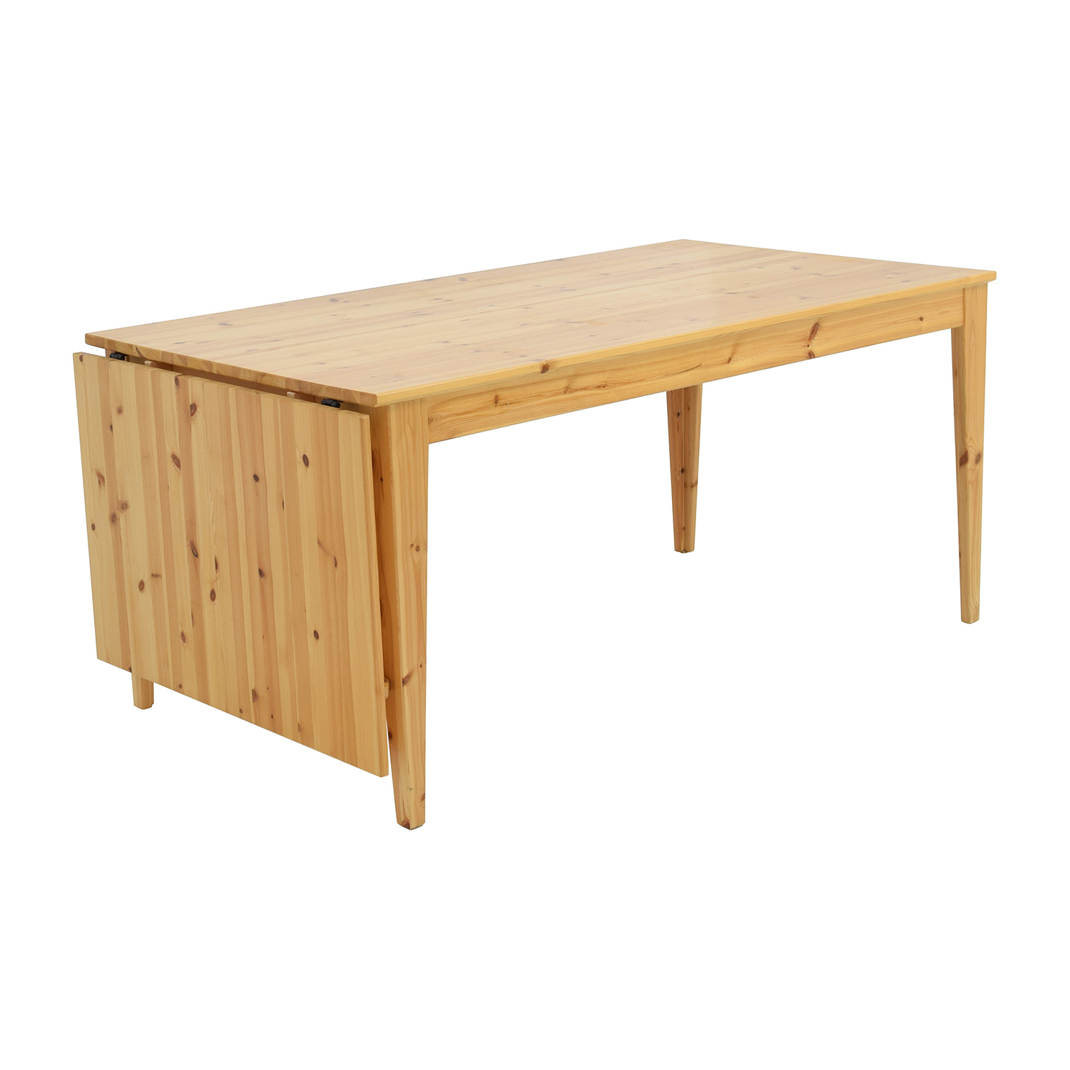 Ikea Leaf Table 61% Off - Ikea Ikea Norma's Pine Wood Drop Leaf Table / Tables