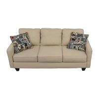 52% OFF - Wayfair Wayfair AllModern Three Cushion Beige ...
