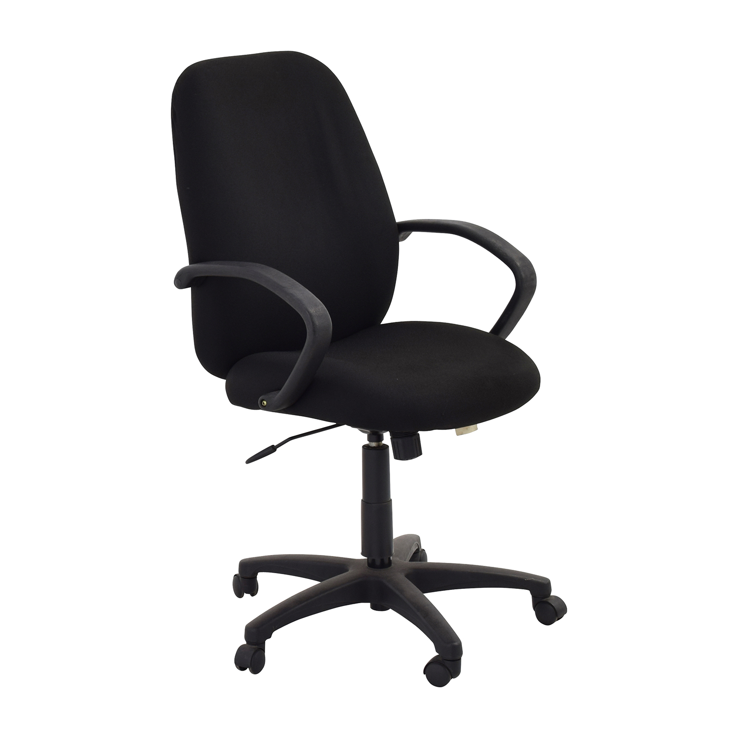 Furniture Chairs Black 80 Off Black Swivel Office Chair Chairs