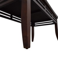 50% OFF - Modern Dark Brown Coffee Table / Tables