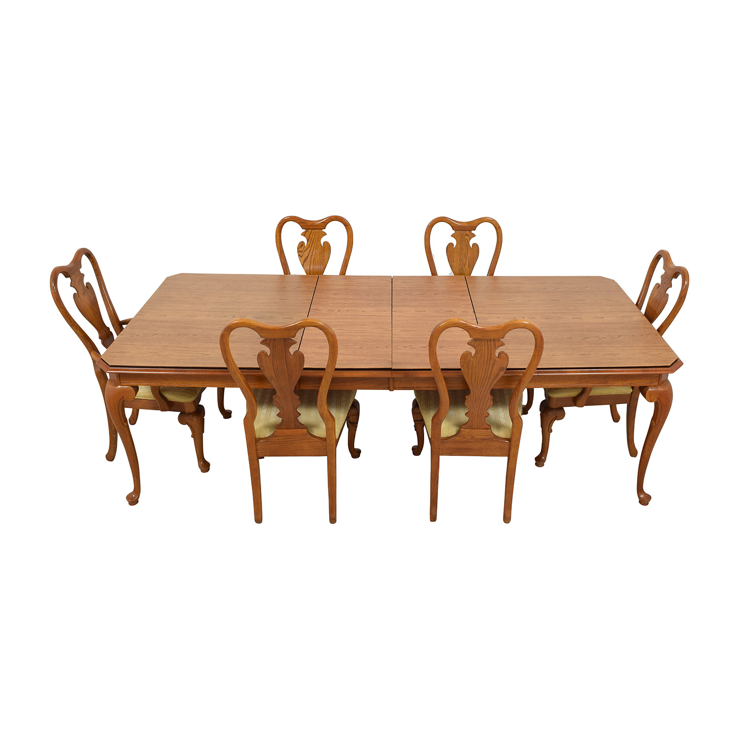 Second Hand Wood Sala Set 85 Off Classic Six Piece Wooden Dining Set Tables