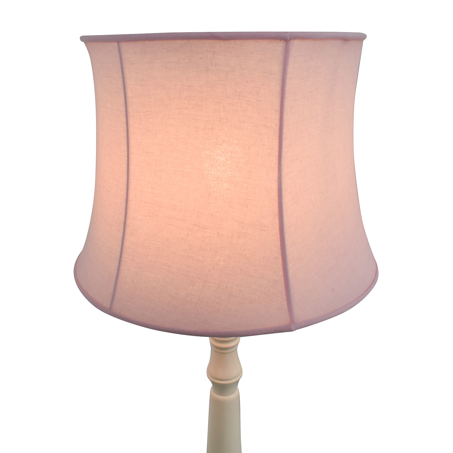 Pink Lamp 68 Off Pottery Barn Pottery Barn Payton Floor Base Lamp