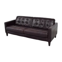 59% OFF - Macy's Macy's Milan Leather Sofa / Sofas