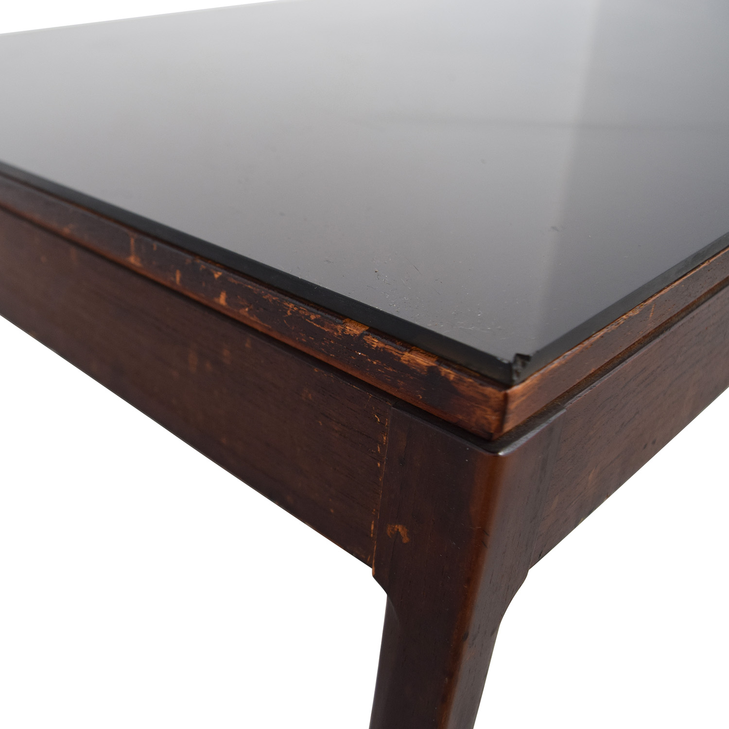Mid Century Black Coffee Table 90 Off Mid Century Black Top Coffee Table Tables