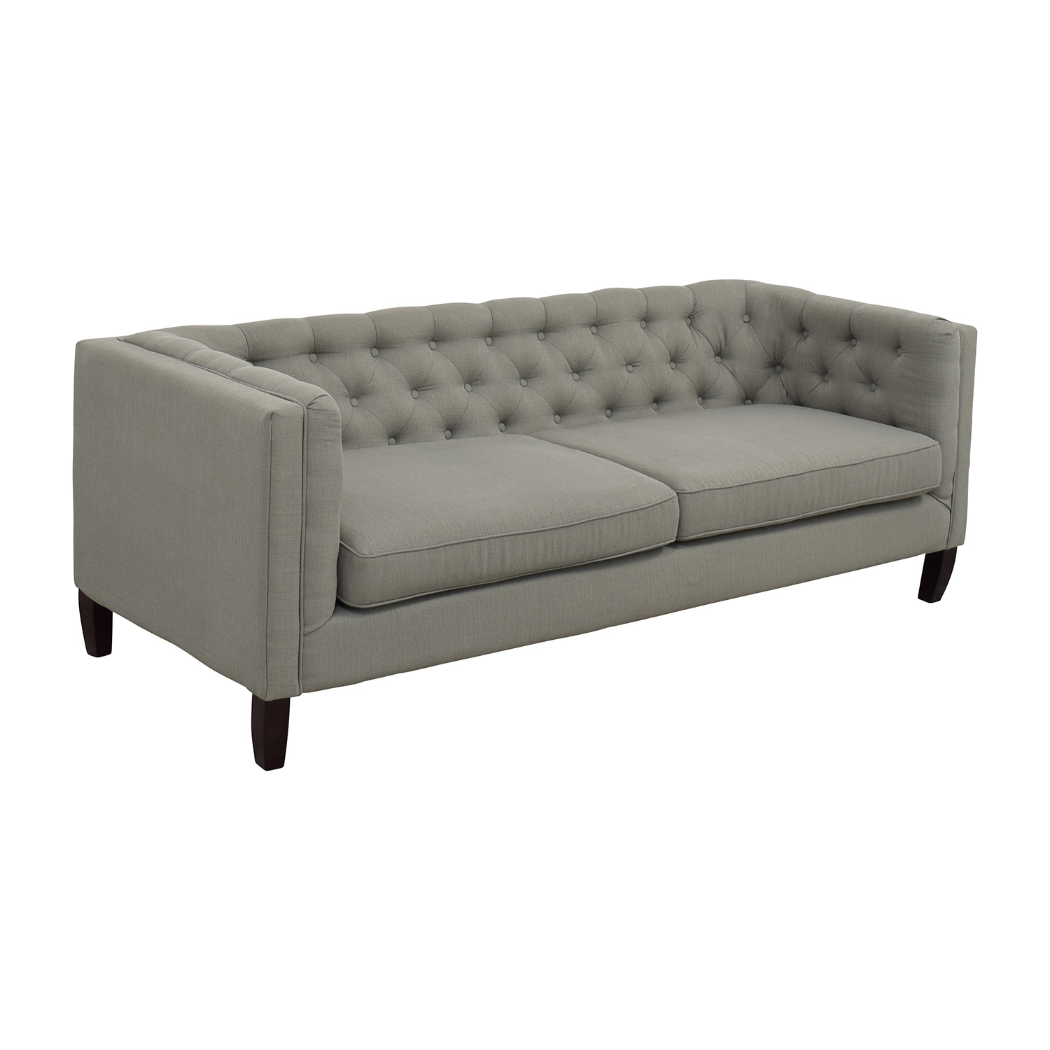Sofaland Glasgow Sofa World High Back Two Seat Chesterfield Leather Uk Rattan And