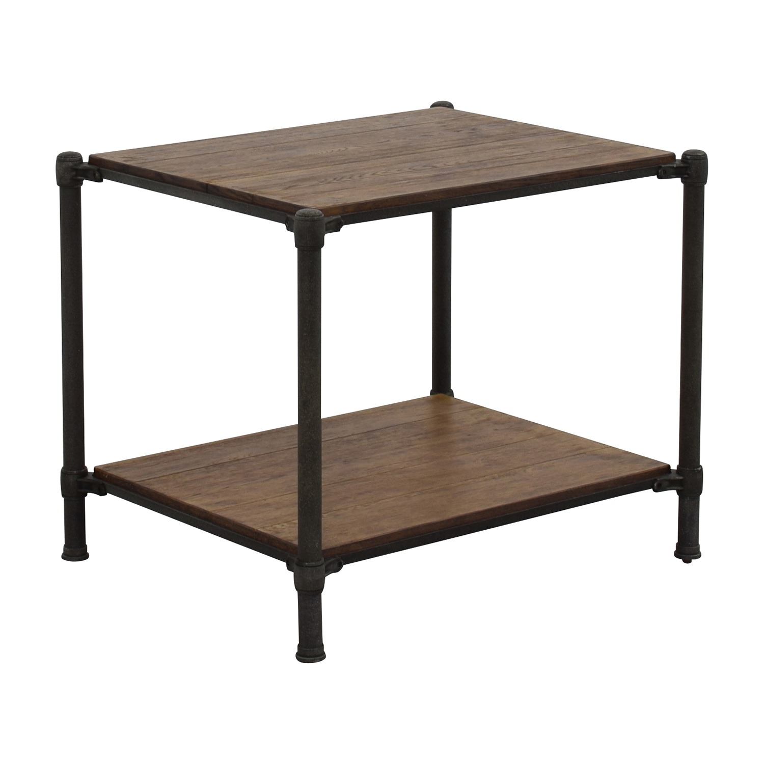 Wood And Metal Side Tables 83 Off Ethan Allen Ethan Allen Metal And Wood End Table