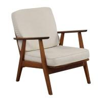 60% OFF - Danish Mid-Century Arm Chair / Chairs