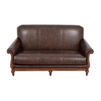 Mid Century Leather Sofa - talentneeds.com