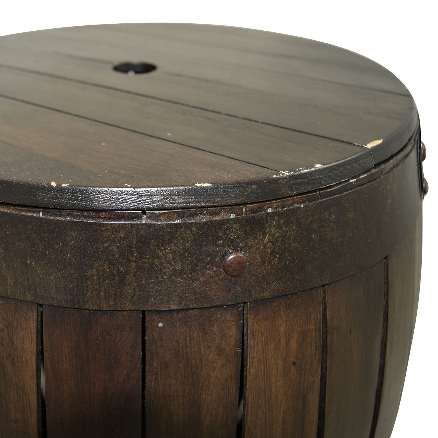 Buy Side Table 42 Off Wood Barrel Side Table Tables