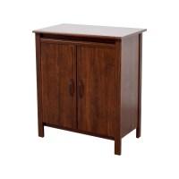 63% OFF - IKEA IKEA Brusali Cabinet with Doors / Storage
