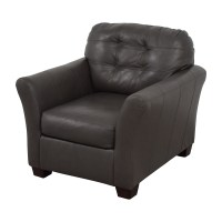 Gray Leather Recliner Chair. 53 OFF Ashley Furniture ...