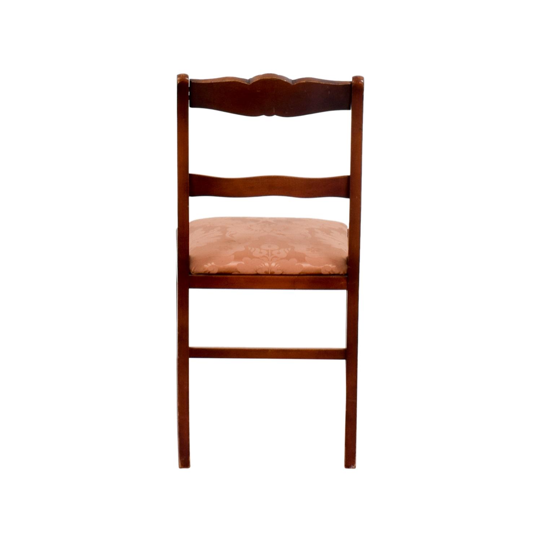 Orange Damask Chair - Orange damask chair silk damask upholstered wood chair coupon download