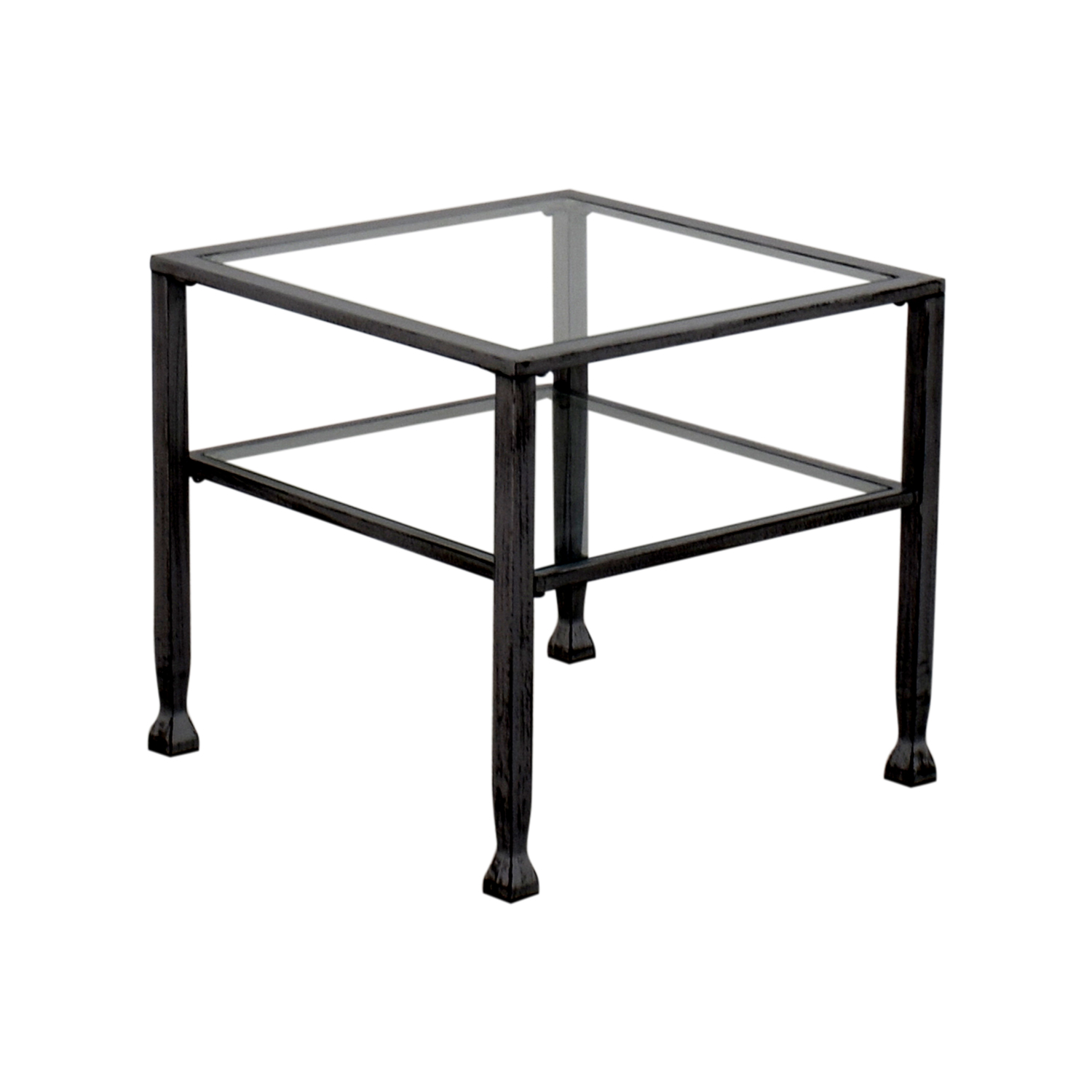 Glass And Steel Coffee Tables 86 Off Glass And Steel Coffee Table Tables