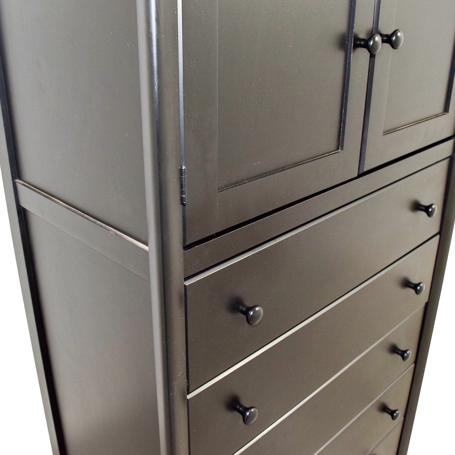 Black Tall Boy 79 Off Atlantic Atlantic Black Tall Boy Six Drawer