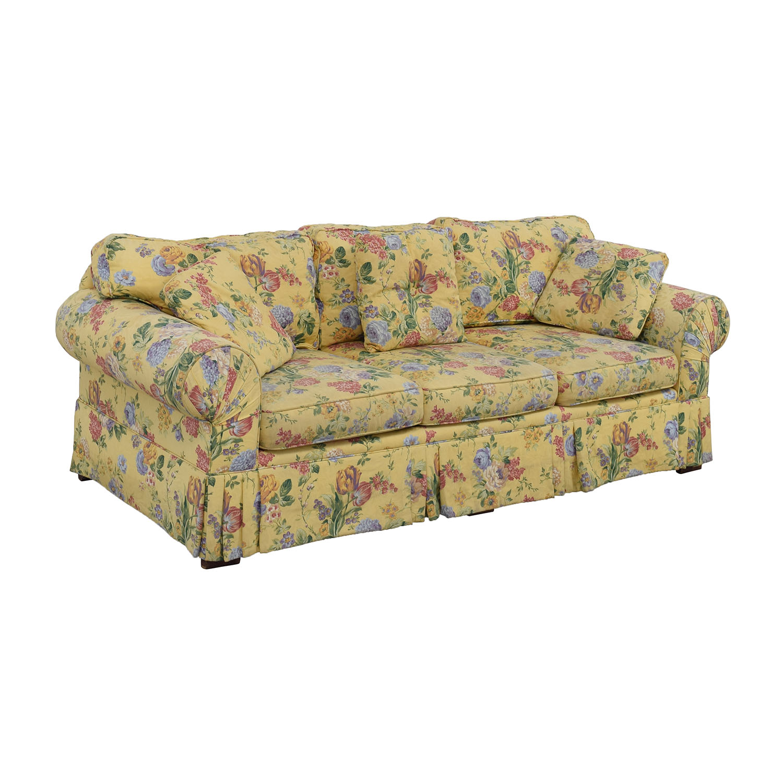 90 Off Alexvale Alexvale Yellow Floral Two Cushion