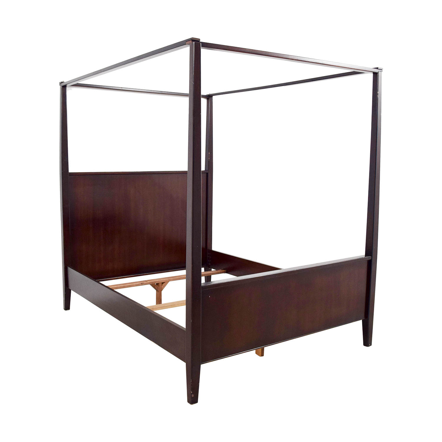 4 Poster Bed Frame Queen 88 Off Crate And Barrel Crate And Barrel Queen Four Poster